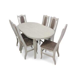 Valgomojo stalas Ovalas